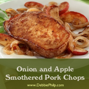 pork chop apple onion