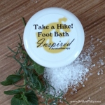 Take a Hike Foot Bath Blog